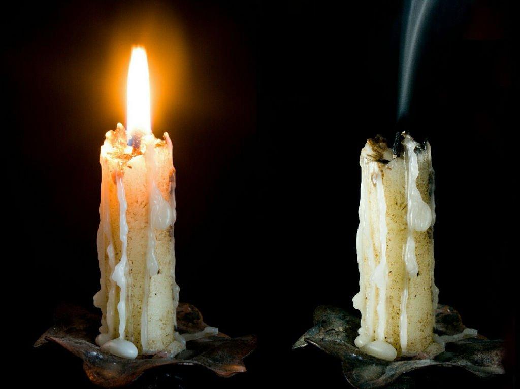 venta-imagenes-compra-gráficas-fotos-velas-luz-encendido-apagado