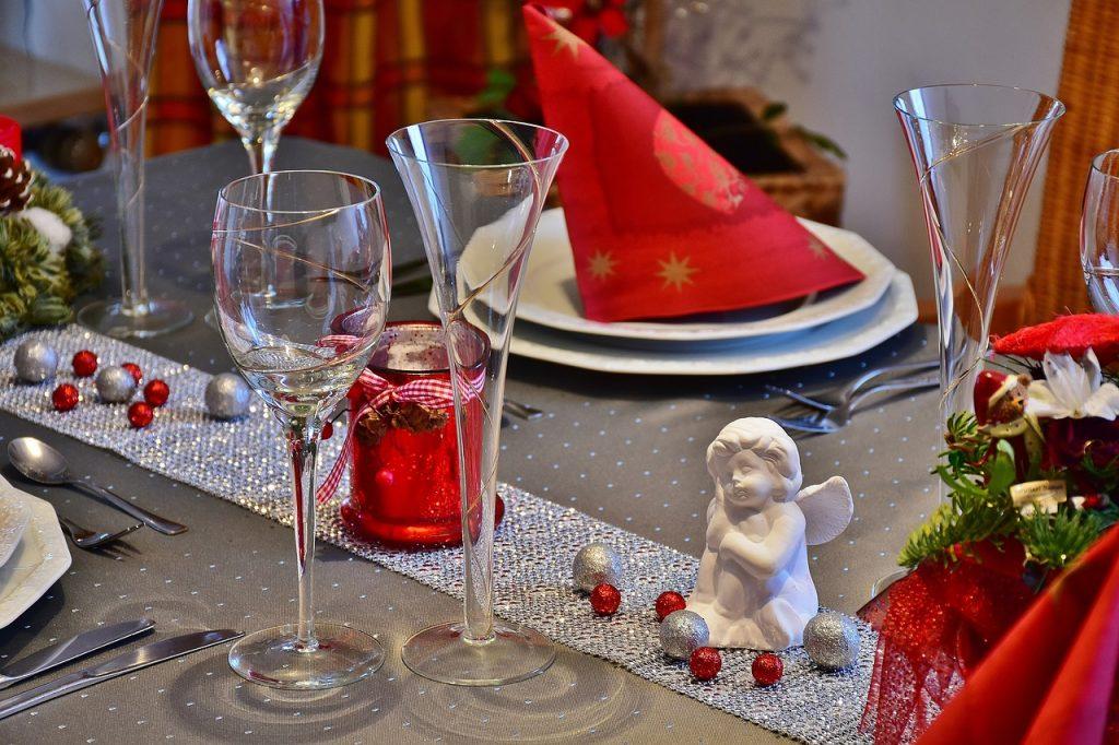 Decoración-navidad-mesa-cena